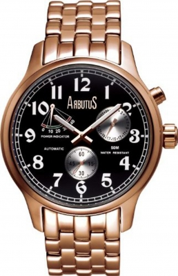 Arbutus New York Herrenuhr Automatik Apexon AR0089BSR